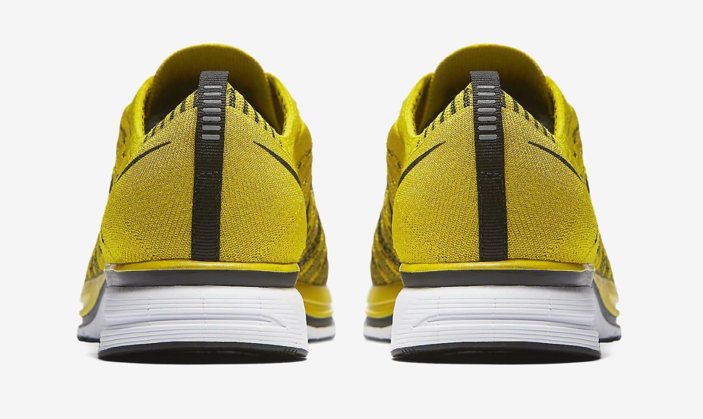 5ab68c4a43a8 Image via Nike Nike Flyknit Trainer Citron ah8396-700 Heel