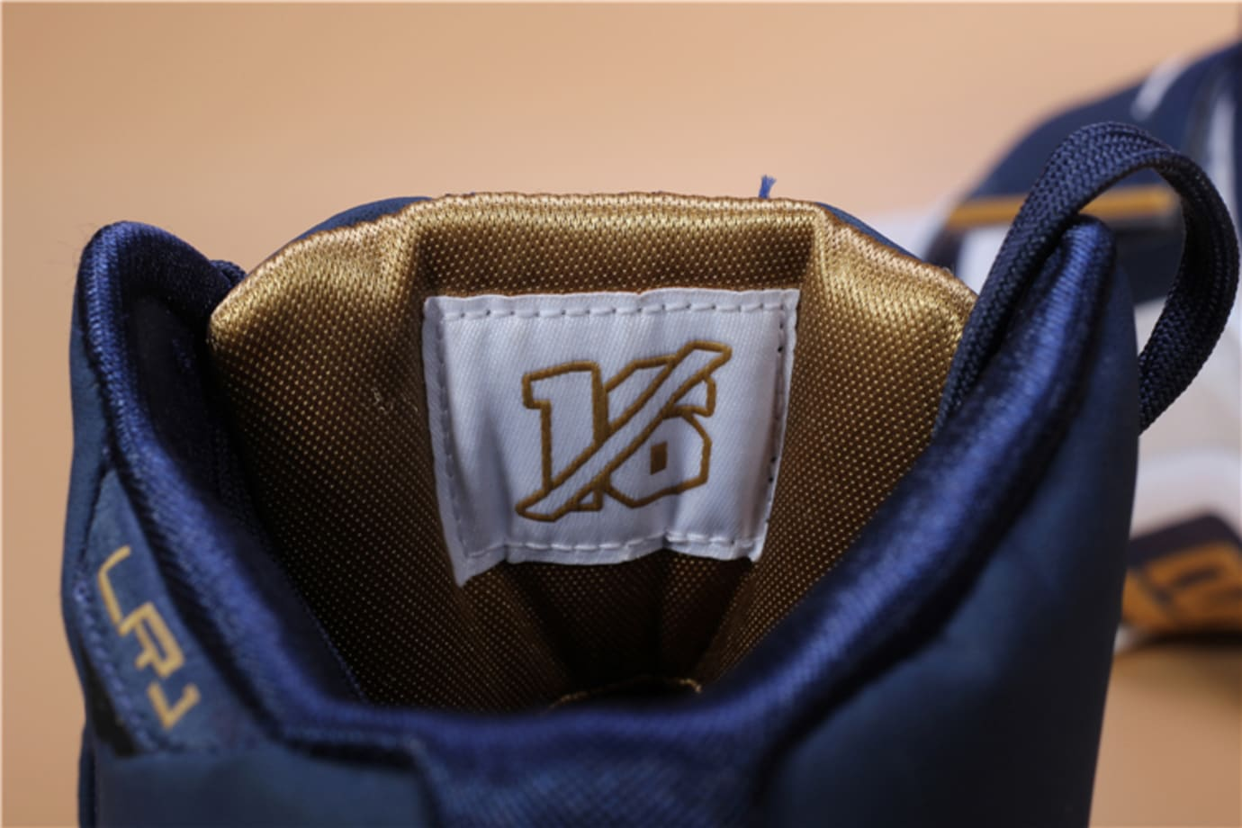 on sale e9a6c fba7e Nike LeBron Soldier 1 Retro 25 Straight Release Date Back Tongue