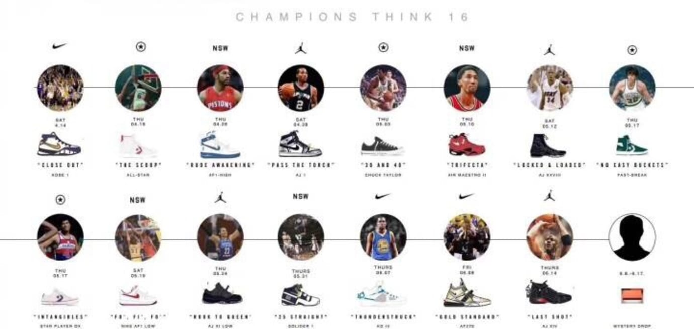 Nike 'Champions Think 16' Pack