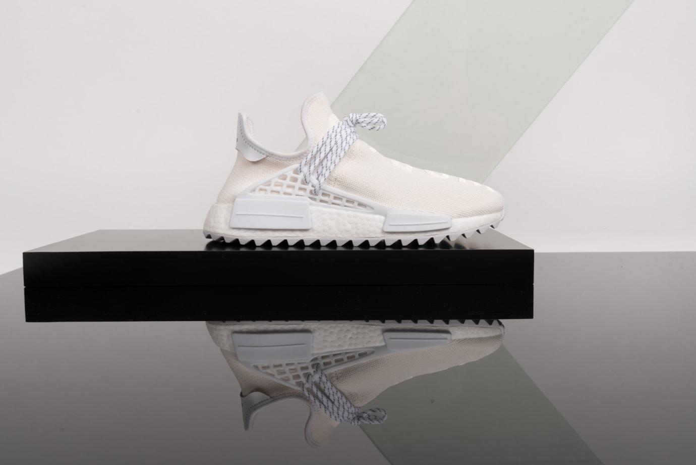 Reign Deadstock Program Pharrell x Adidas NMD Hu 'Blank Canvas'