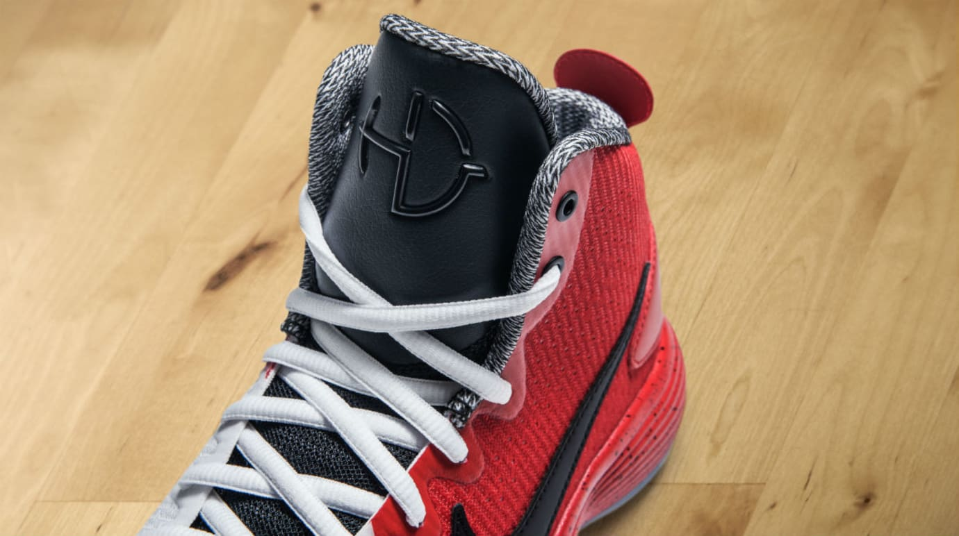 Elena Delle Donne Nike Hyperdunk Swoopes PE Release Date Tongue