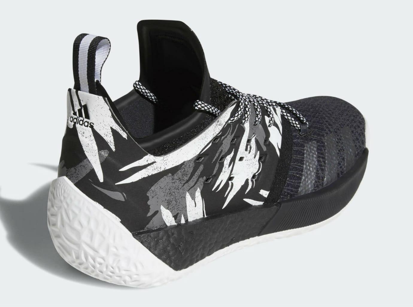 Adidas Harden Vol. 2 Traffic Jam Release Date AH2217 Back