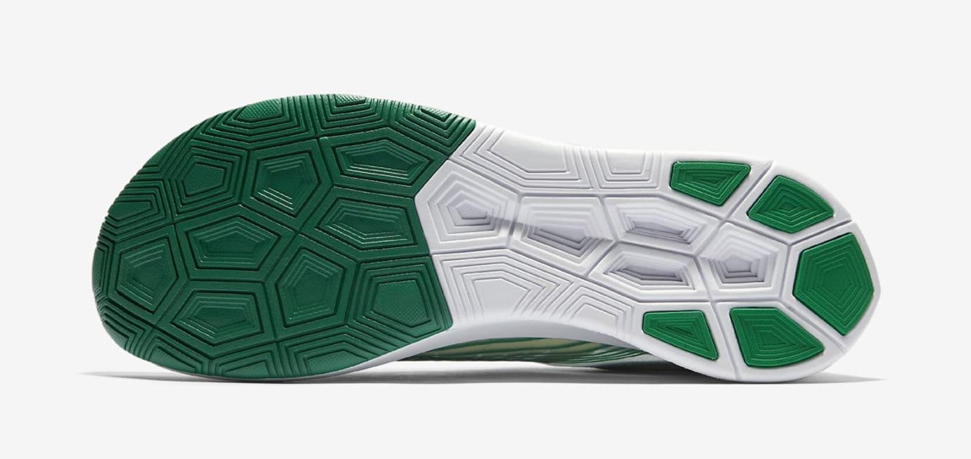 Nike Zoom Fly SP White Lucid Green AJ9282-101 Sole