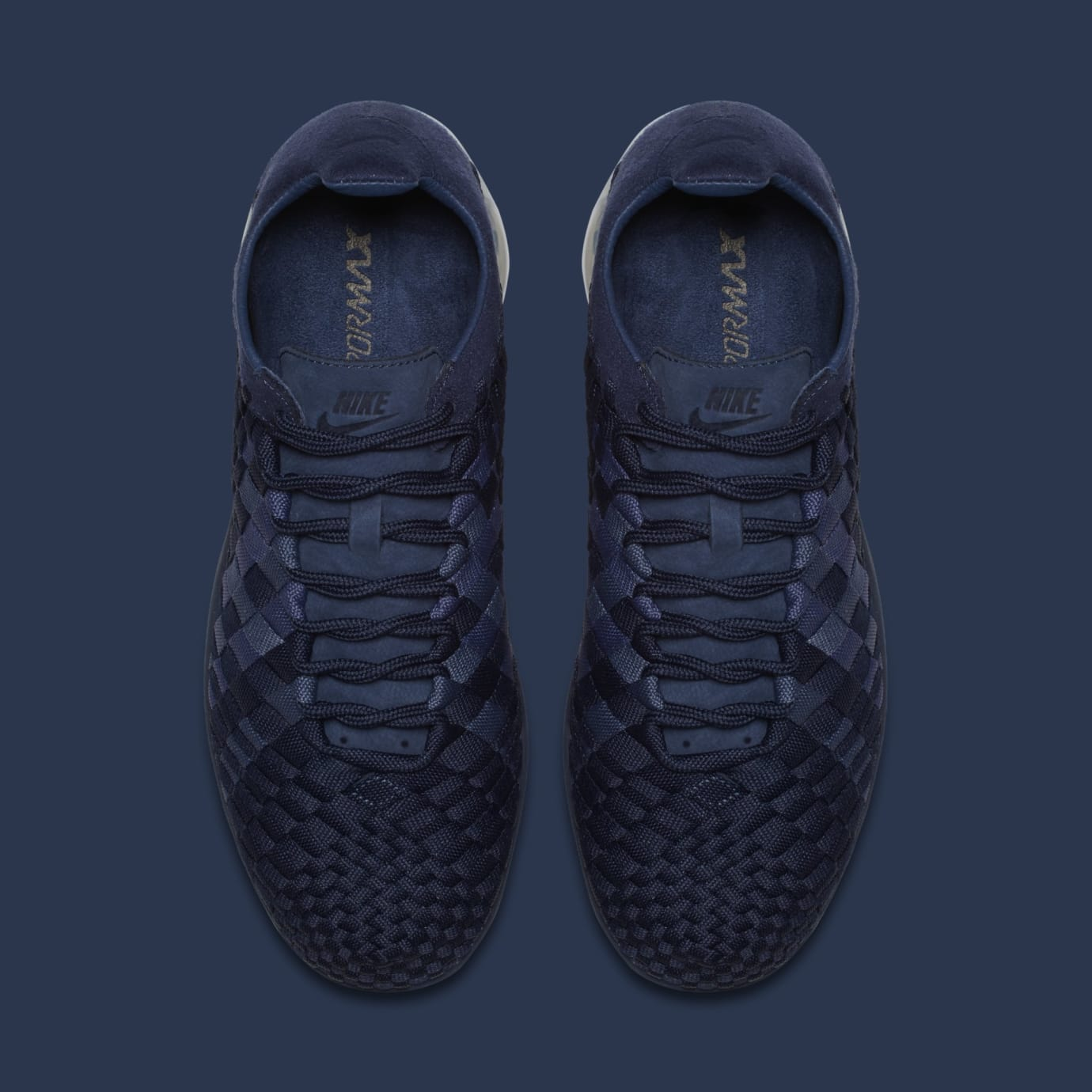 5da4597c58 Image via Nike Nike Air VaporMax Inneva 'Midnight Navy/Metallic Silver'  AO2447-400 (Top