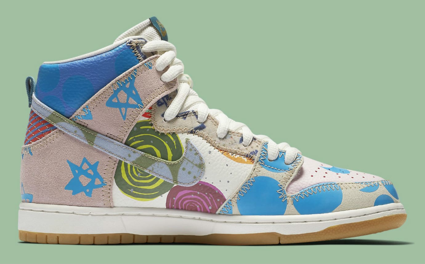 Thomas Campbell Nike SB Dunk High Chronicles Release Date