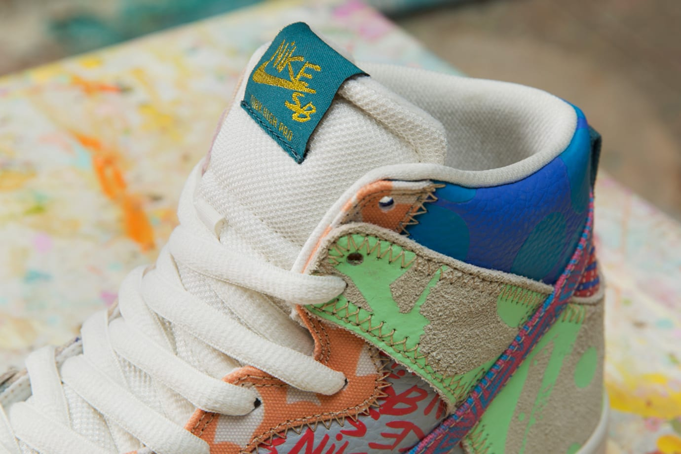 Thomas Campbell x Nike SB Dunk High Custom Packaging Limited (7)
