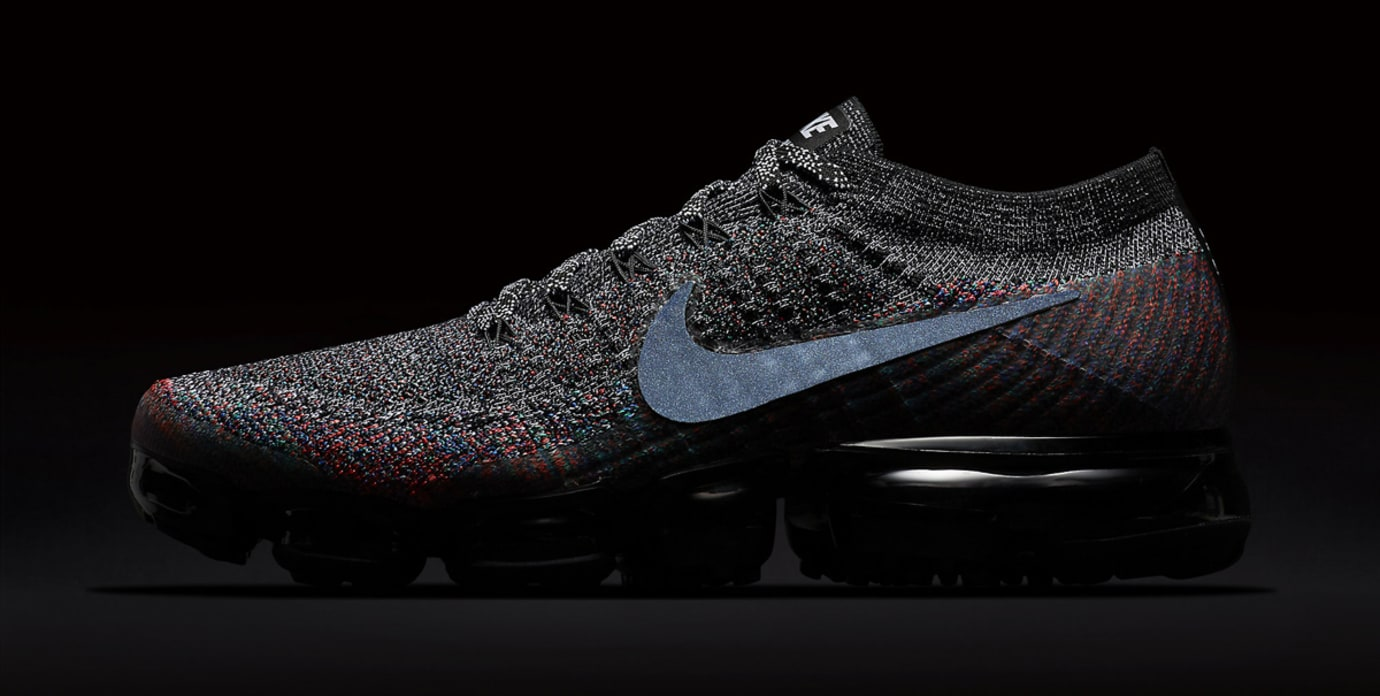 best sneakers 26e2c 4e2a7 Image via Nike Nike Air VaporMax Chinese New Year 849558-016 Reflective