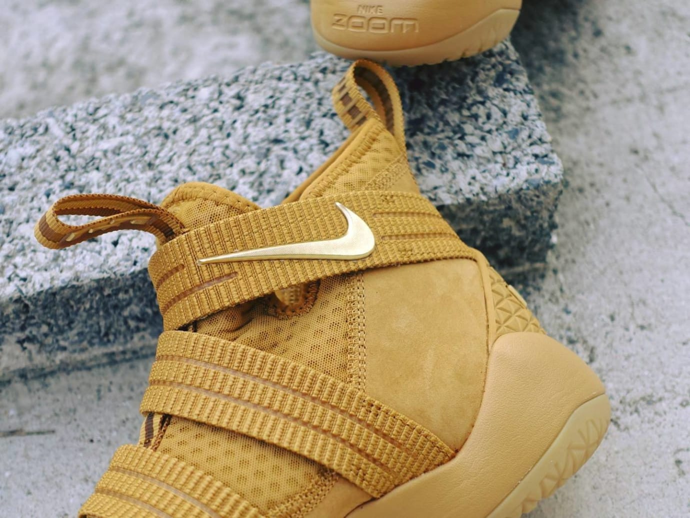 2e97af8a918 Nike LeBron Soldier 11 SFG Wheat Release Date 897647-700 (5)