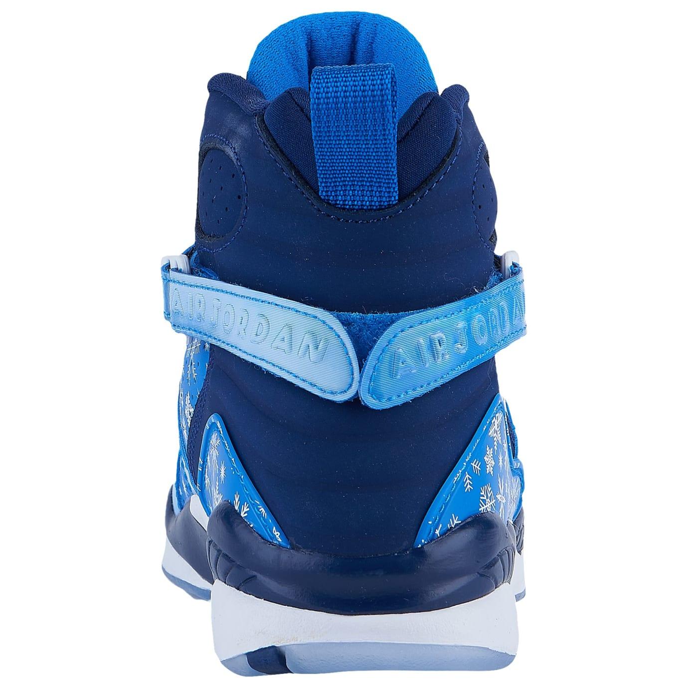 9988eb9d326e Air Jordan 8 VIII Snowflake Release Date 305368-400 Heel