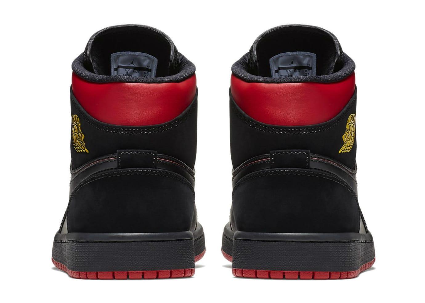best service ec35d 10208 Air Jordan 1 Mid Last Shot Release Date 554724-076 Heel