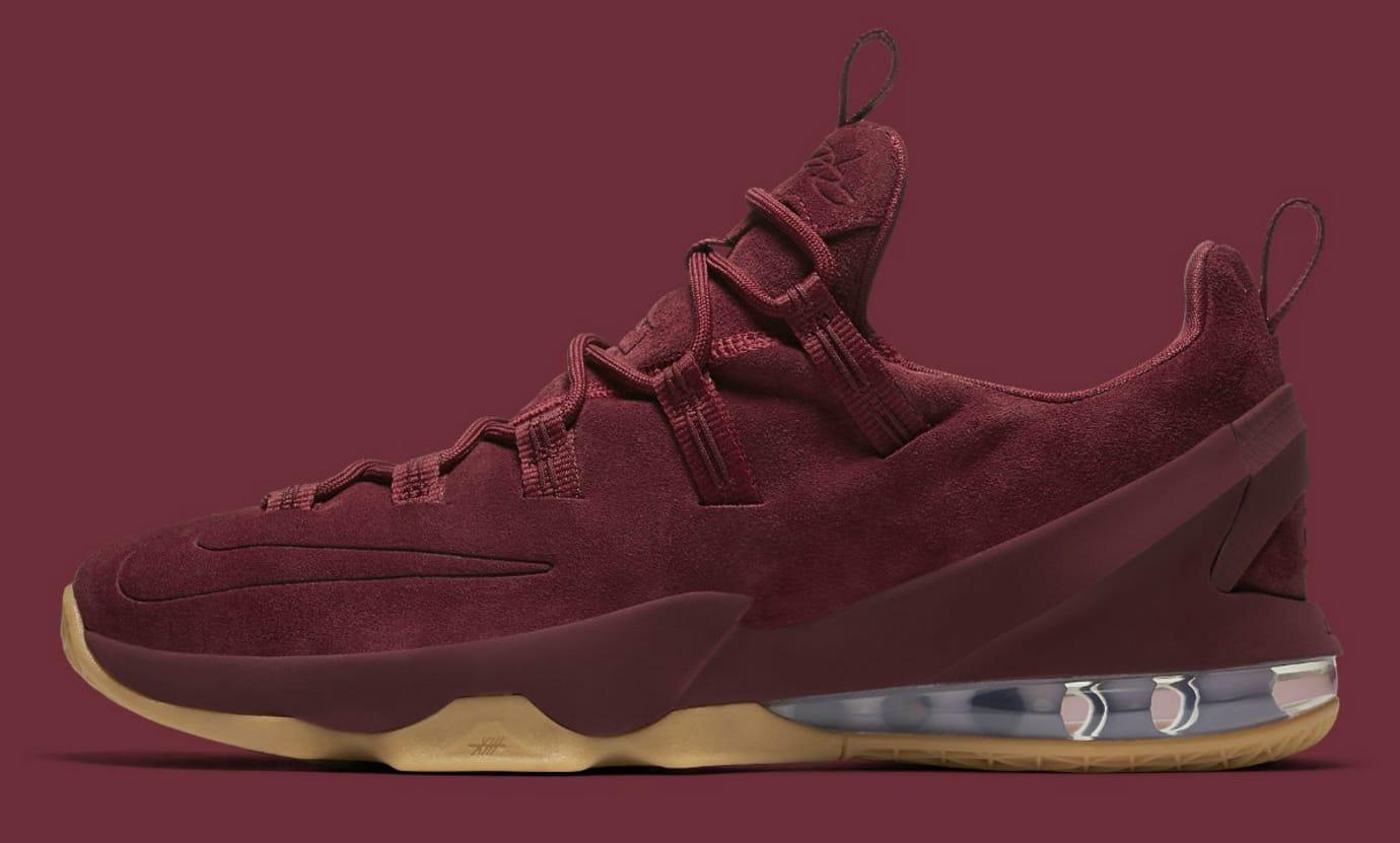 size 40 d5899 7c9d8 Nike LeBron 13 Low Premium Team Red & Anthracite 2017 ...
