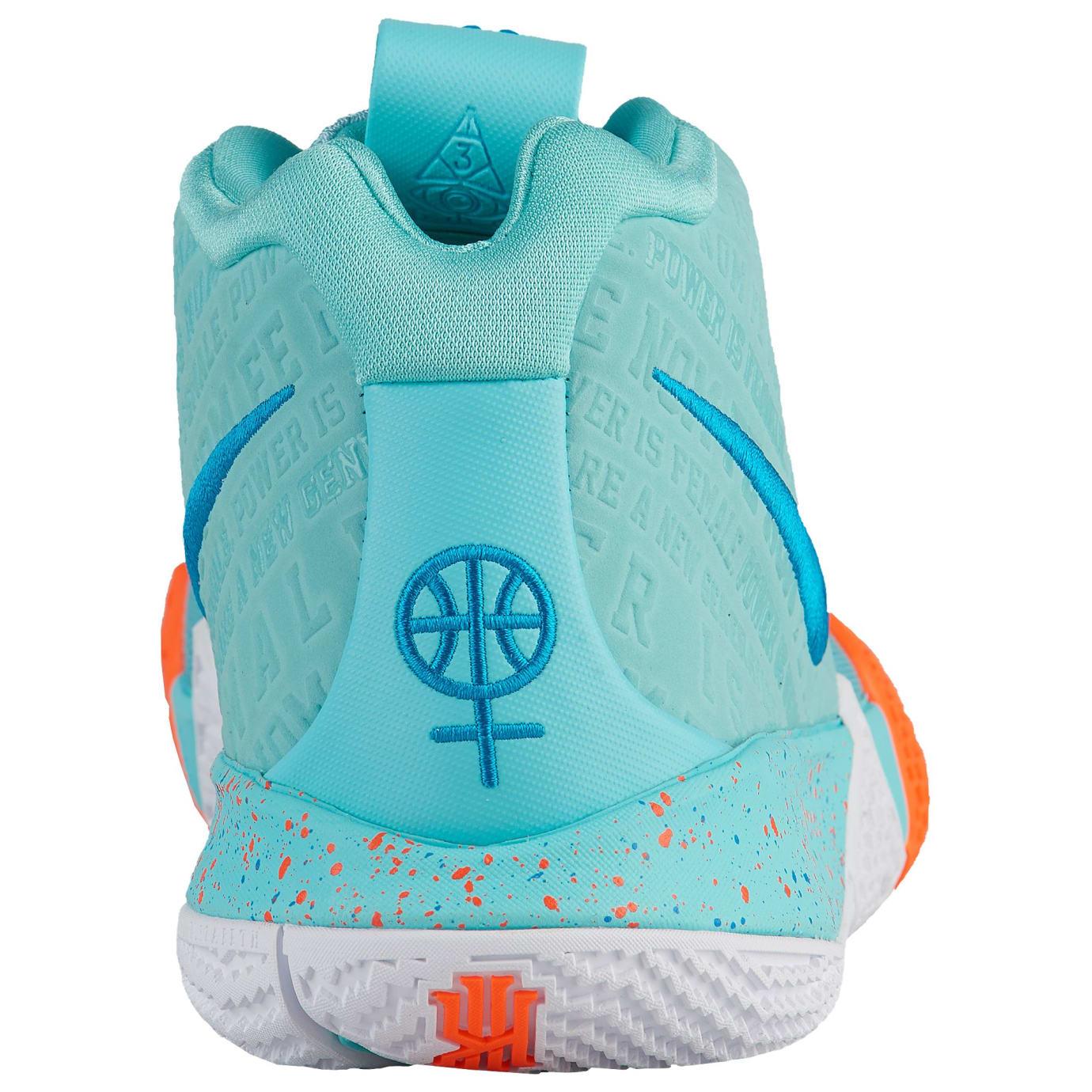 Nike Kyrie 4 Power Is Female Release Date 943806-402 Heel
