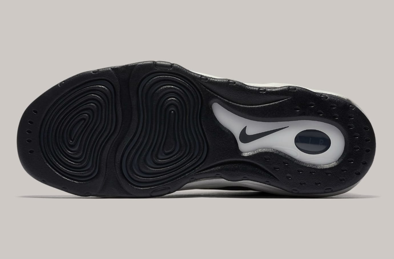 Nike Air Pippen Black Anthracite Vast Grey Release Date 325001-004 Sole
