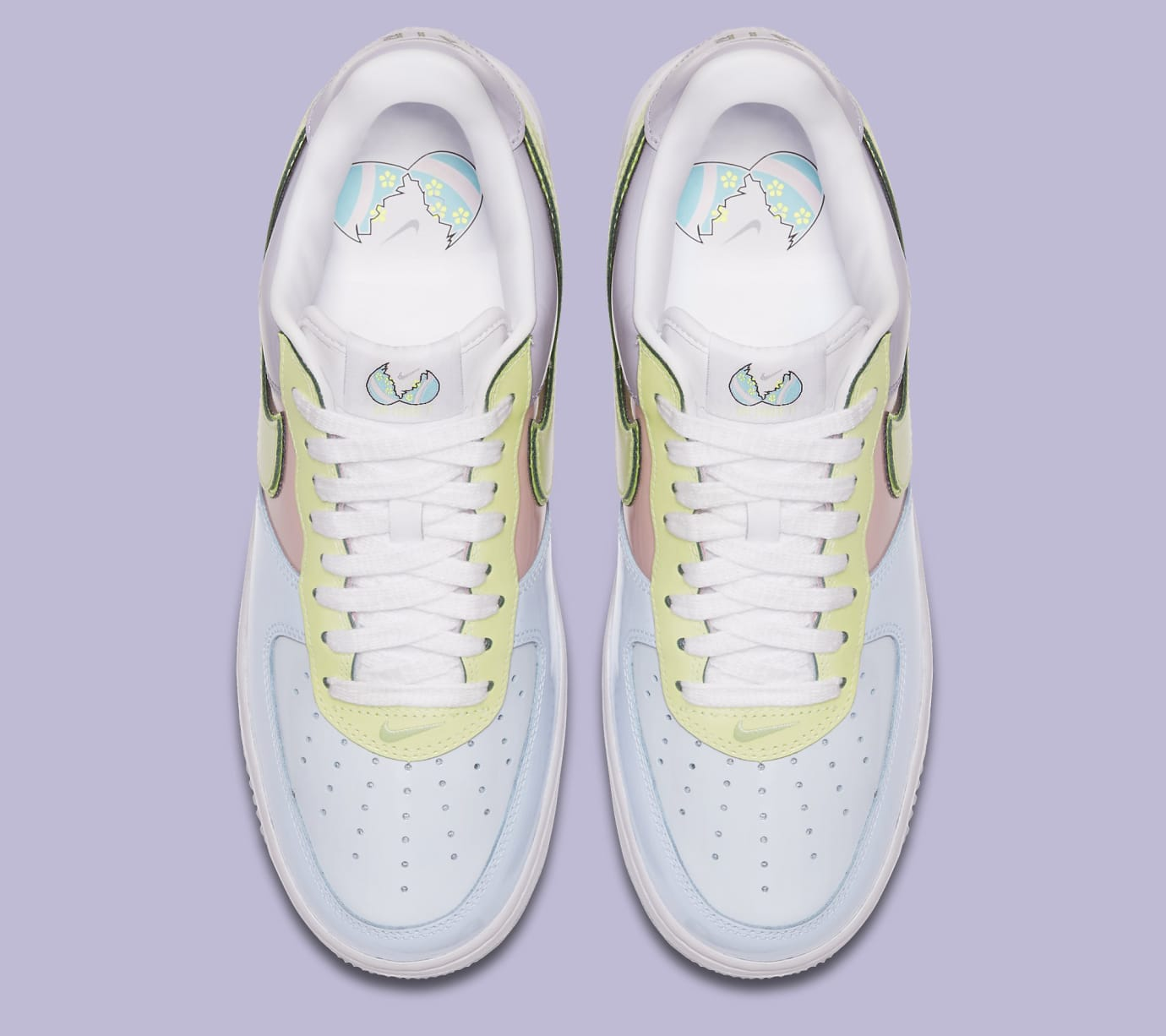 869a680fb19f Image via Nike Easter Egg Nike Air Force 1 2017 Top