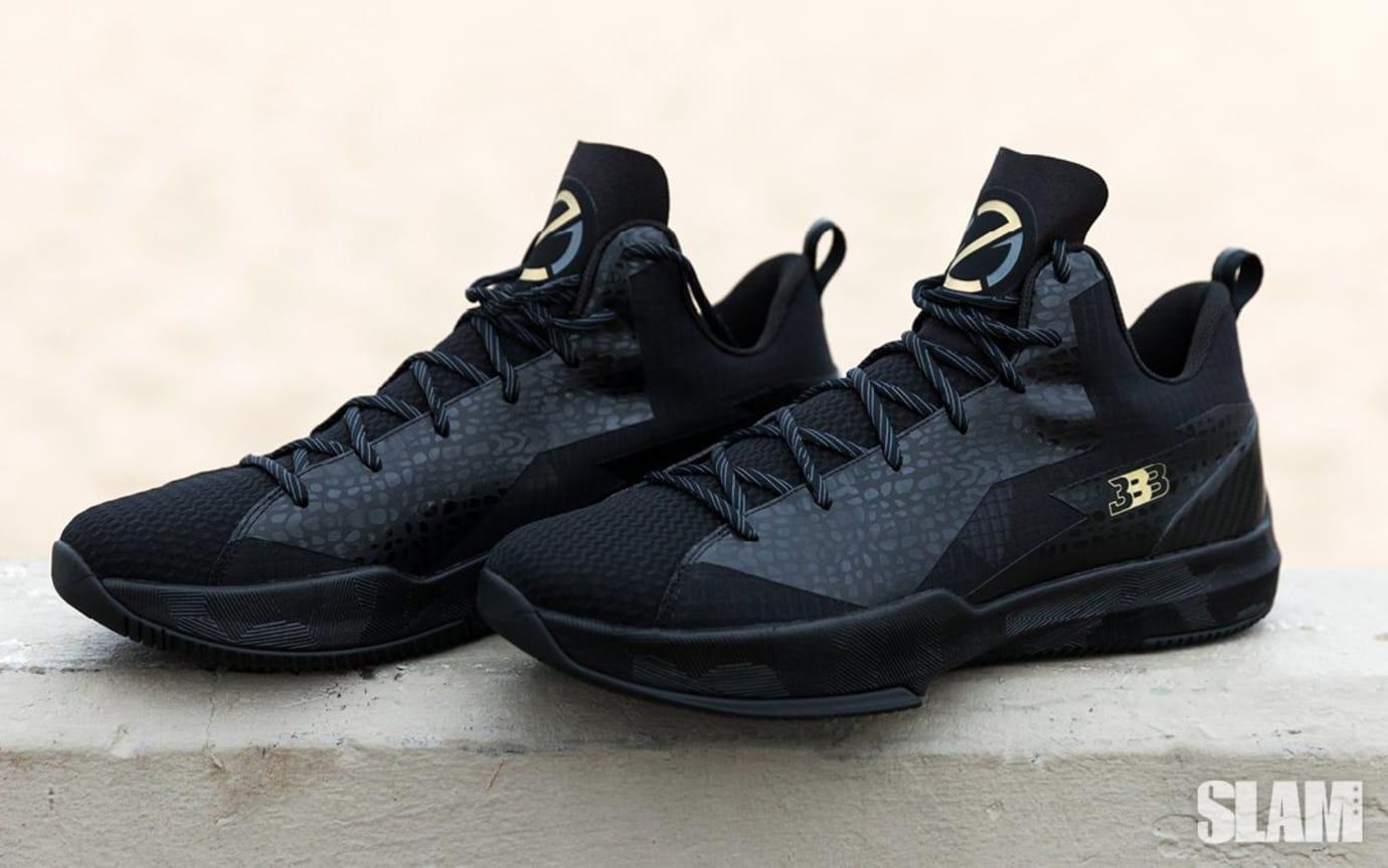 Big Baller Brand Z02 Prime Remix Black Sneakers