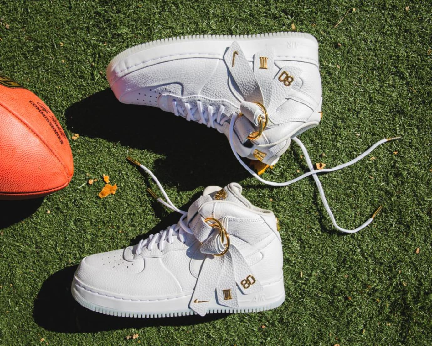 Victor Cruz x Nike Air Force 1 Mid CMFT QS (Pair)