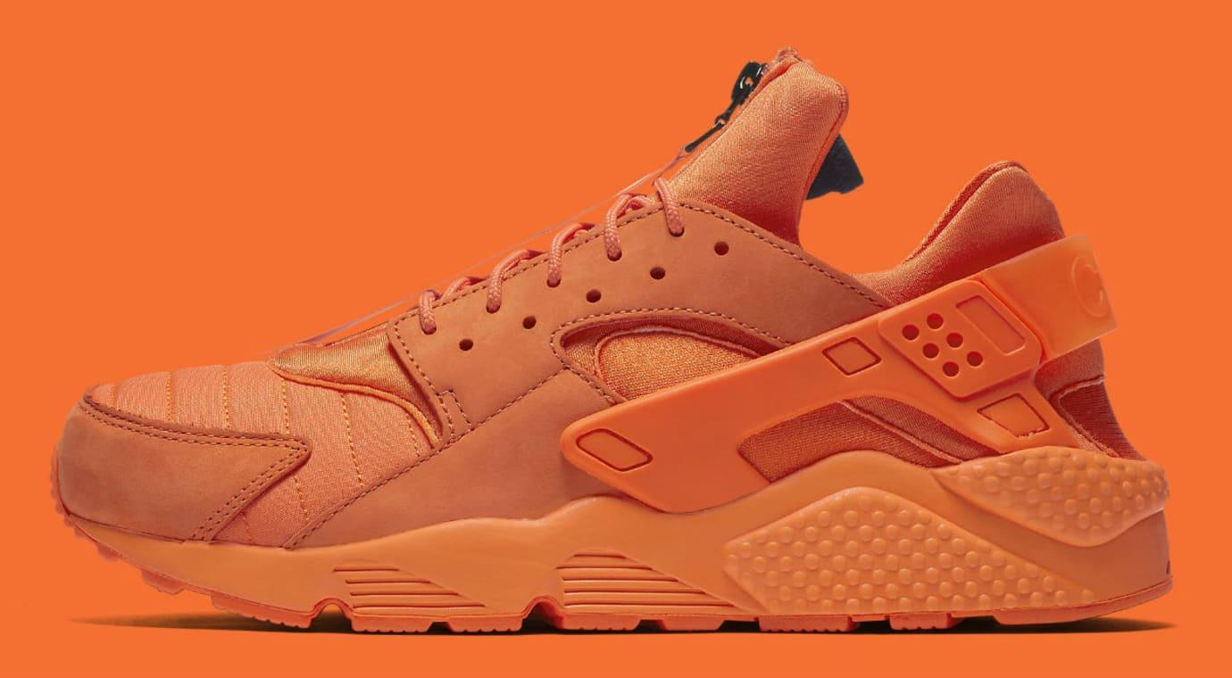 Nike Air Huarache Run Chicago Orange Release Date AJ5578-800 Profile