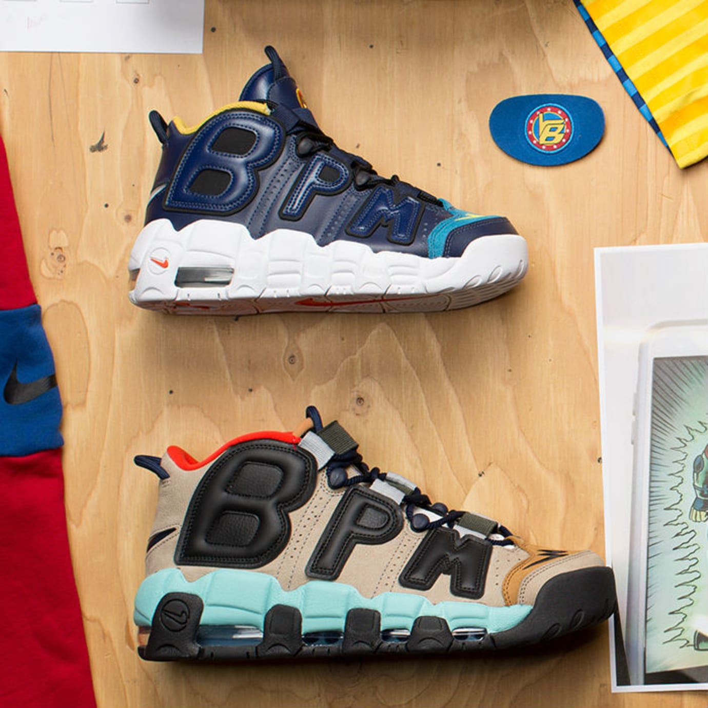 Nike Air More Uptempo Doernbecher Samples