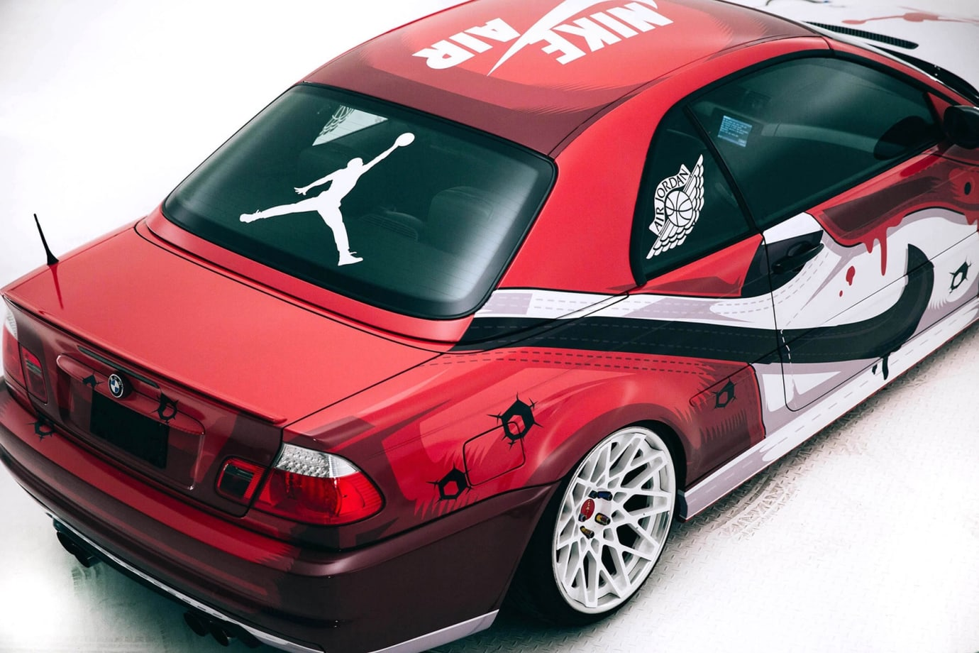 Air Jordan 1 Custom BMW (4)