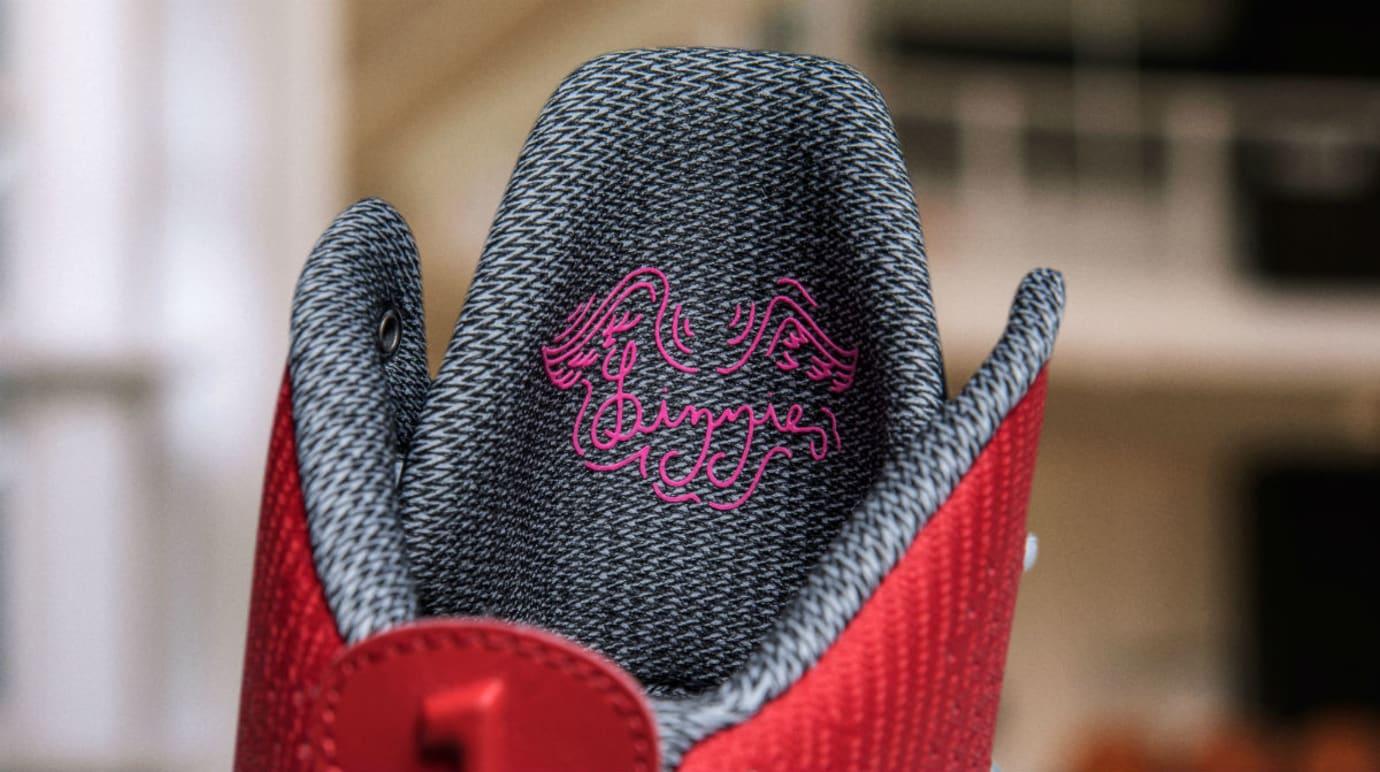 Elena Delle Donne Nike Hyperdunk Swoopes PE Release Date Tongue Back