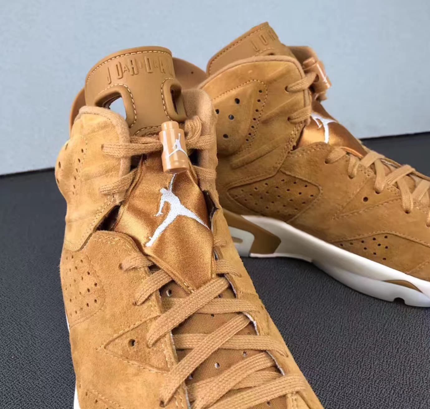 ae1bbcb4f3193d Air Jordan 6 Golden Harvest Wheat Release Date 384664-705