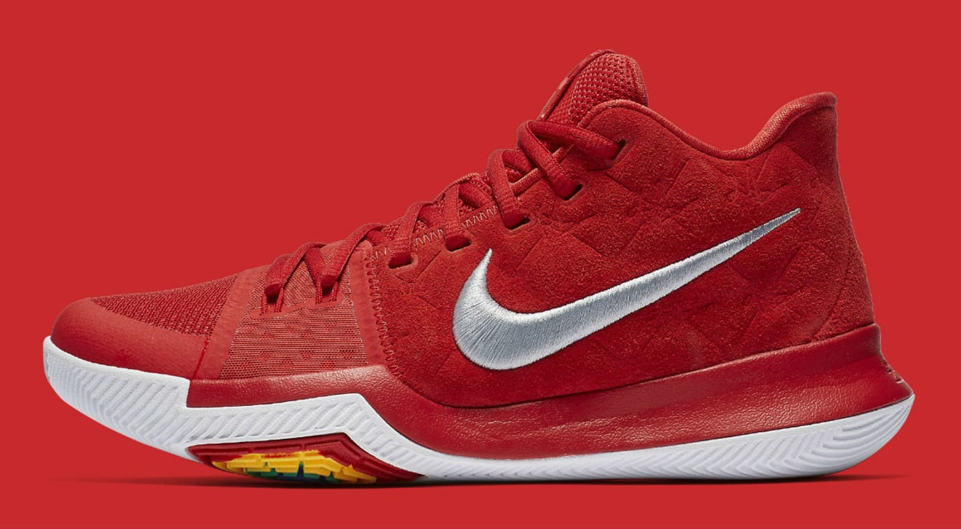 Nike Kyrie 3 University Red Release Date Profile 852395-601