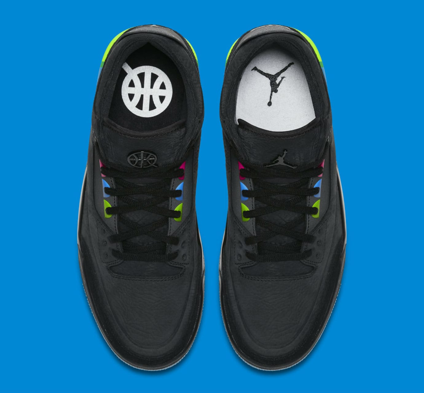 Air Jordan 3 III Quai 54 Release Date AT9195-001 Top