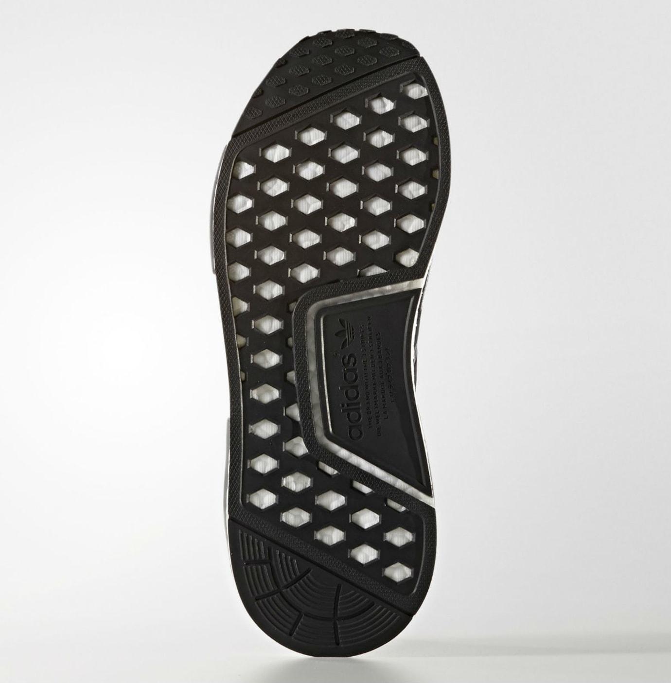 Adidas NMD R1 Primeknit Glitch Camo Core Black Grey Three