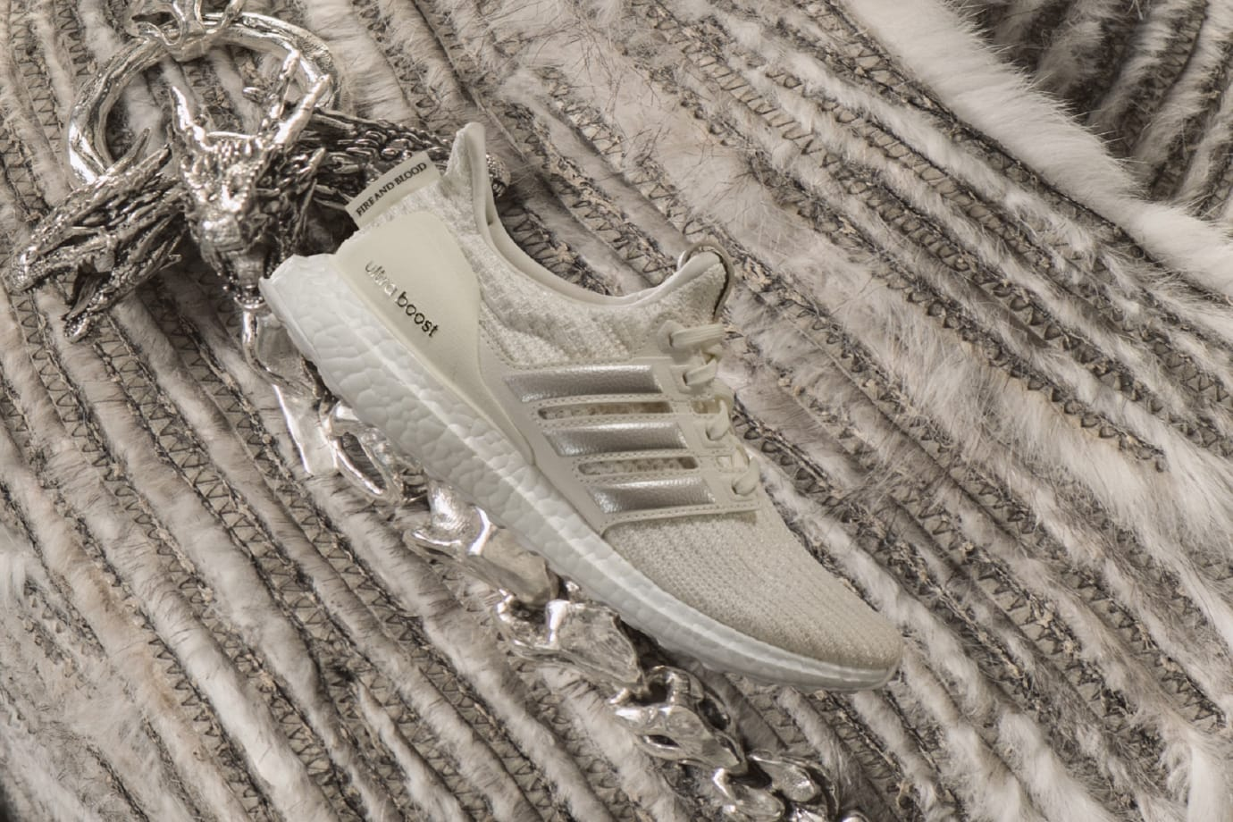 'Game of Thrones' x Adidas Ultra Boost 'House Targaryen'