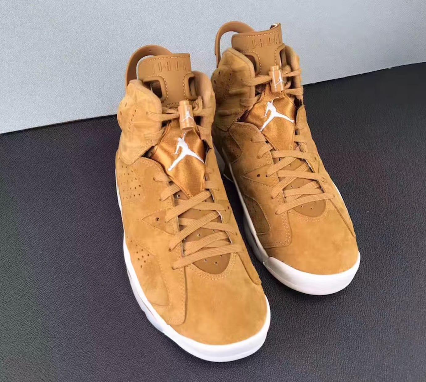 Air Jordan 6 Golden Harvest Release Date 384664-705 (3)