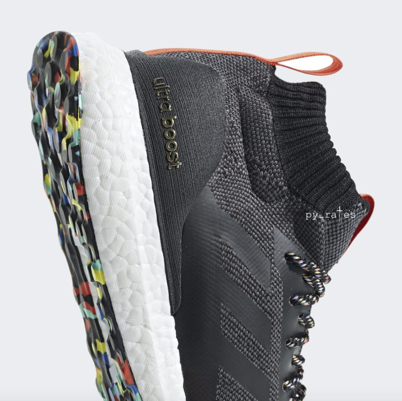 Adidas Ultra Boost Mid 'Black/Multicolor' (Detail)