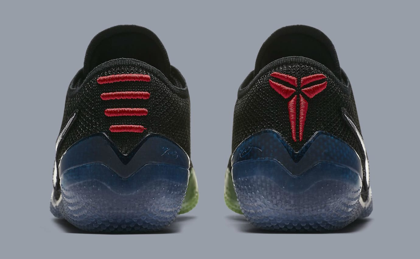 quality design f2545 79d5f Nike Kobe A.D. NXT 360 Mamba Day Black Release Date AQ1087-001 Heel