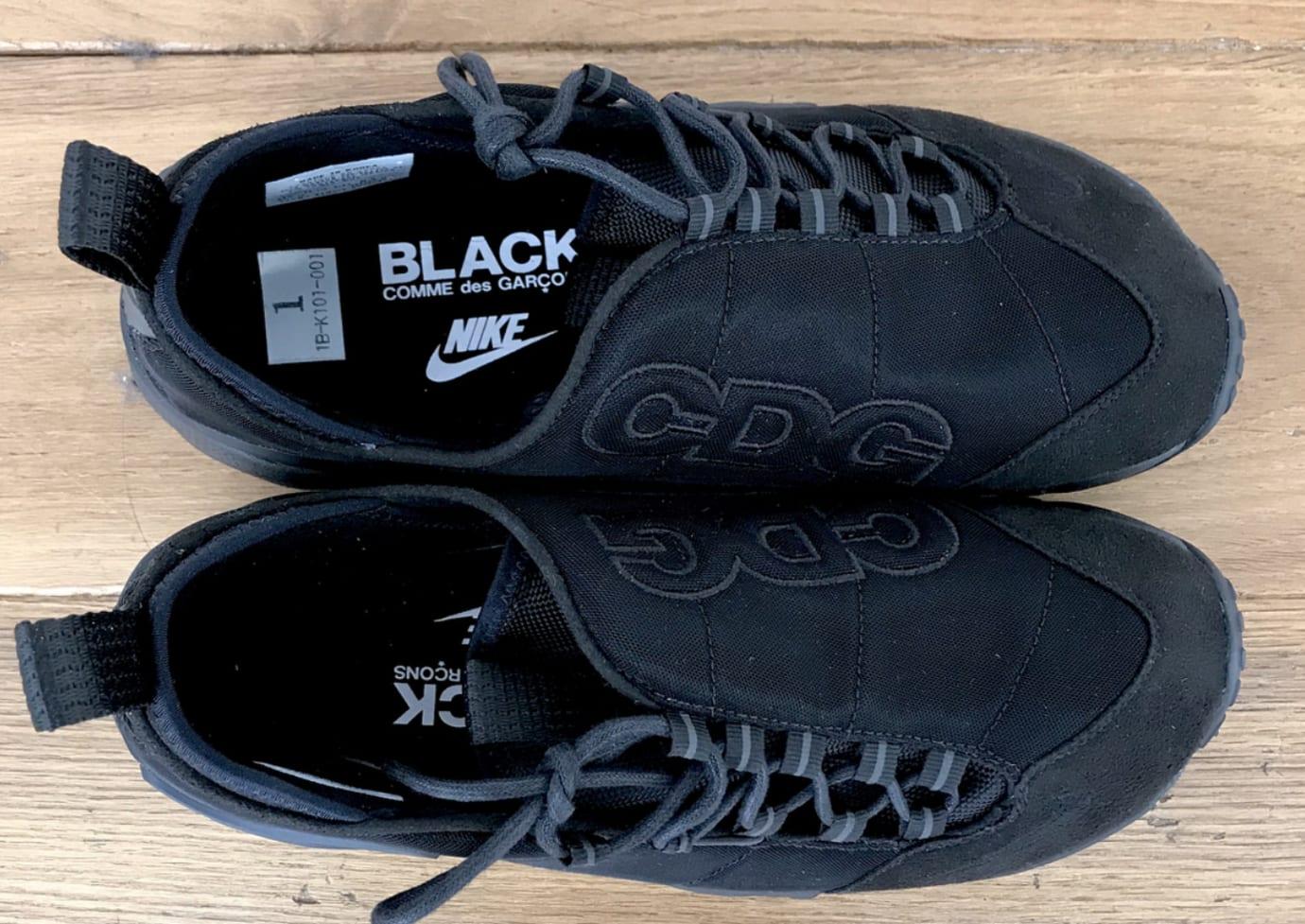 Comme des Garçons Black x Nike Air Footscape Motion (Top)