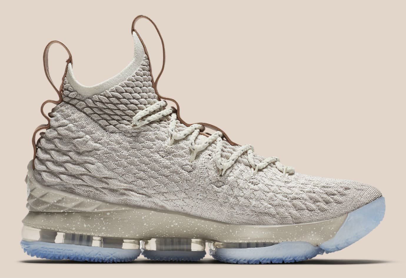 Nike LeBron 15 Ghost Release Date Medial 897649-200