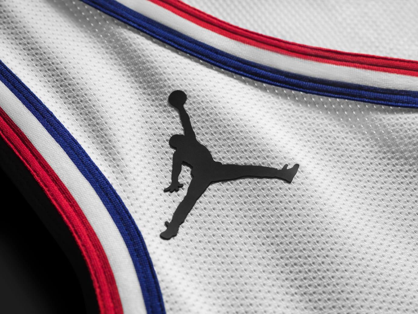 Jordan All-Star Uniform 2019 White Jumpman