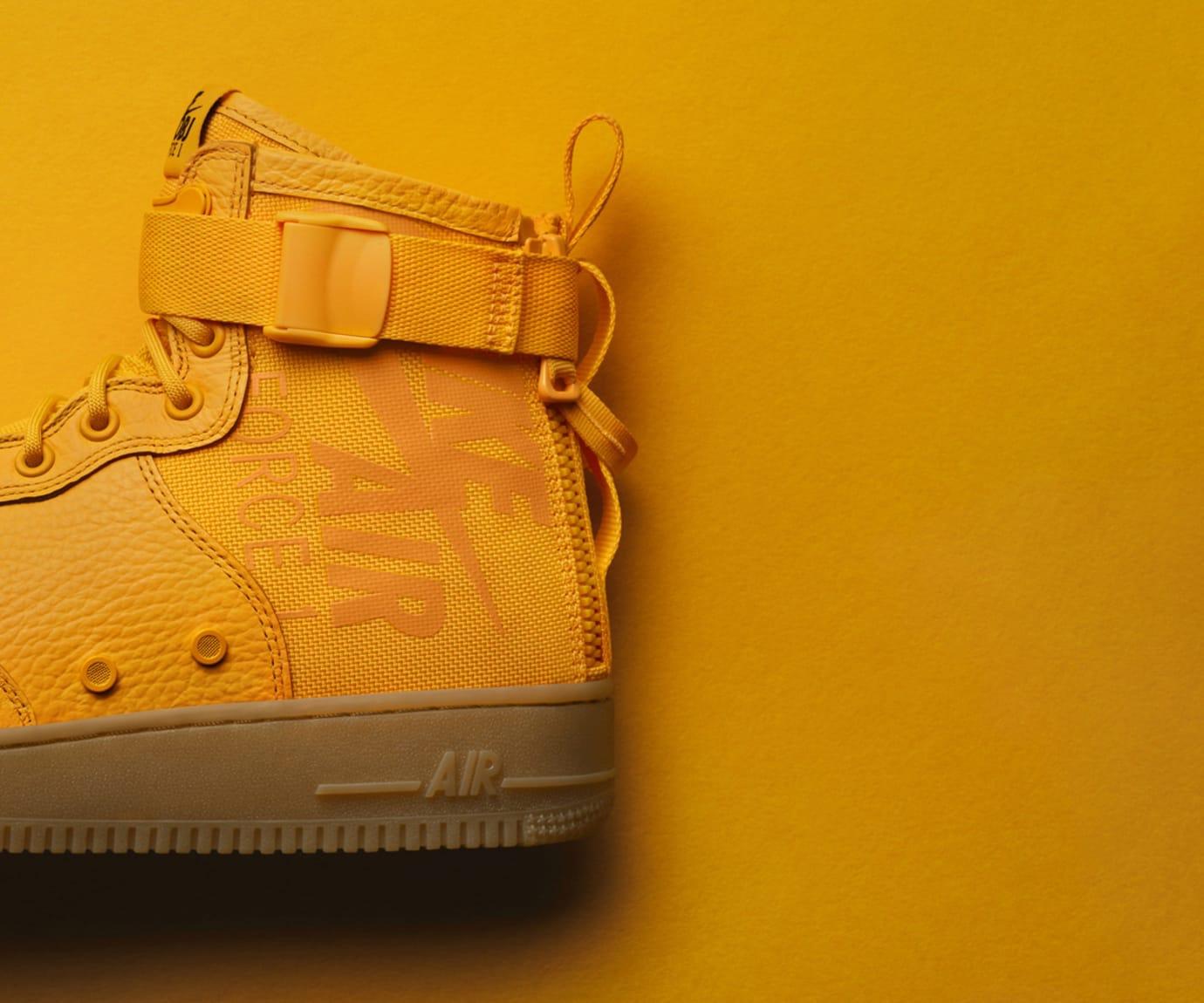 Odell Beckham Jr Nike Air Force 1 OBJ Heel