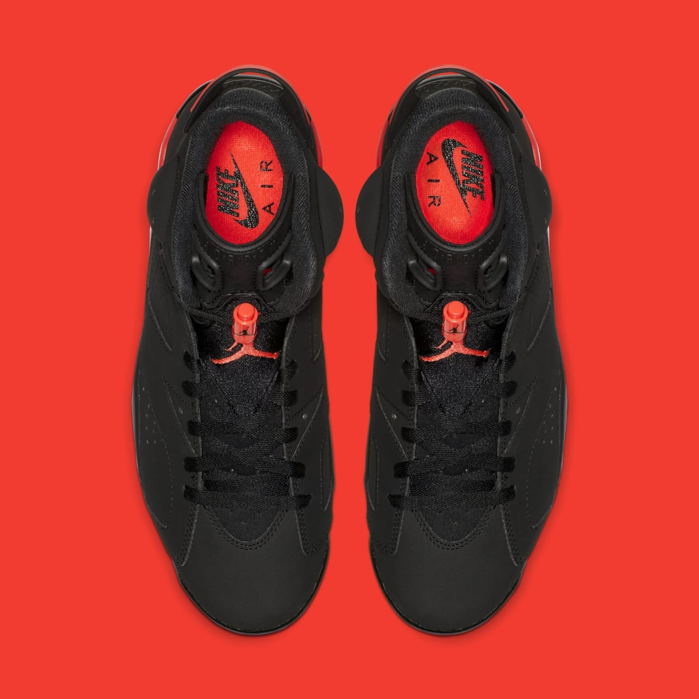 213658e258fce1 Image via Nike Air Jordan 6  Black Infrared  384664-060 (Top)