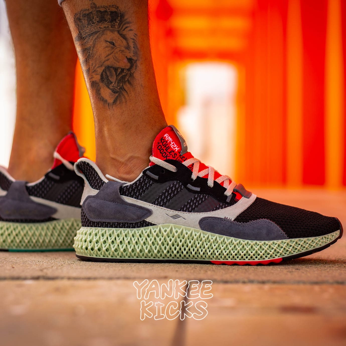more photos 7d2fd b4c33 Adidas Torsion ZX 4000 4D Release Date Right Profile