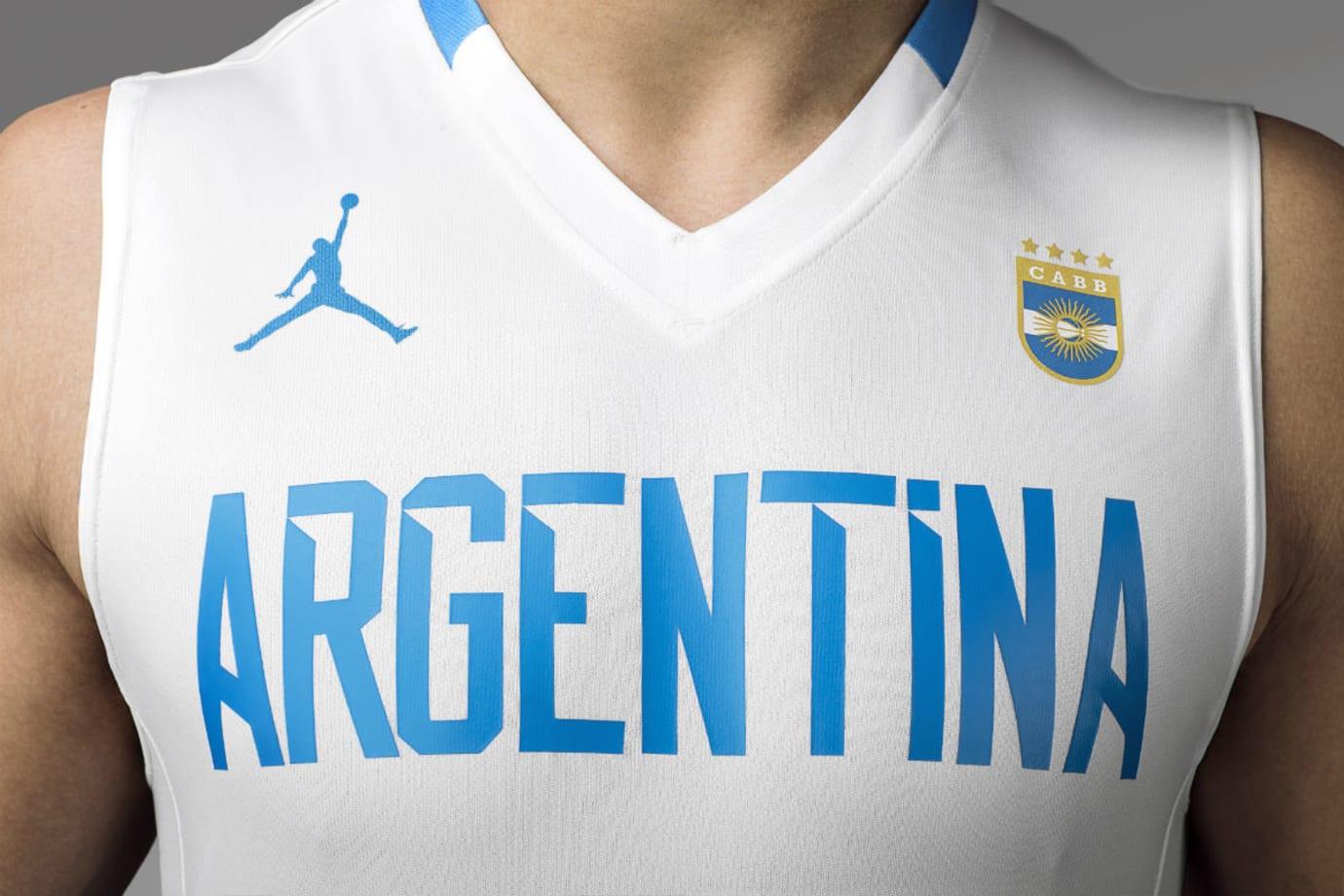 Jordan Brand Argentina Basketball Uniforms 2017 (2)