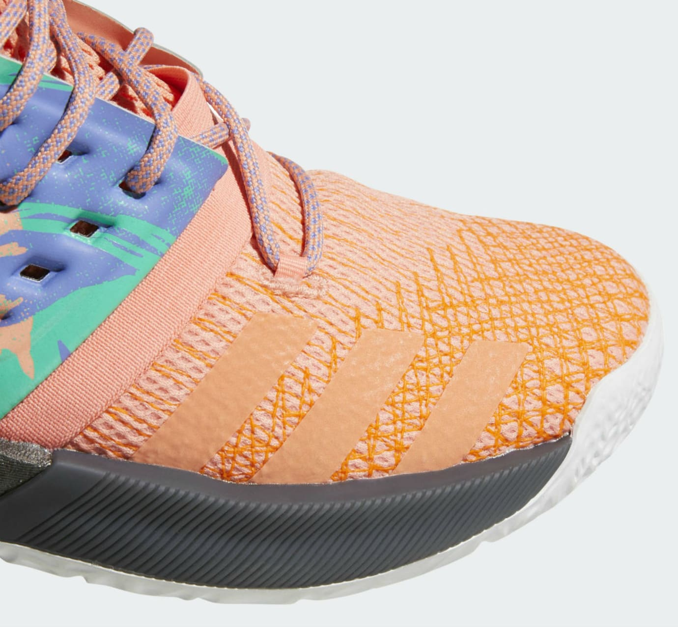 40ec4a529ab Adidas Harden Vol. 2 Orange Release Date AH2219 Toe