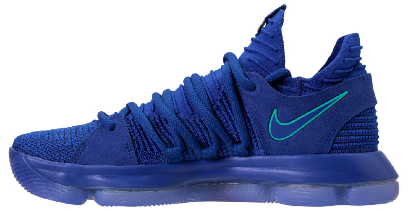 cbc652f52d53 Color  Racer Blue Light Menta Black-Total Crimson Style    897815-402.  Price   150. Nike KD 10 City Edition Release Date 897815-402 Profile Nike  KD 10 City ...