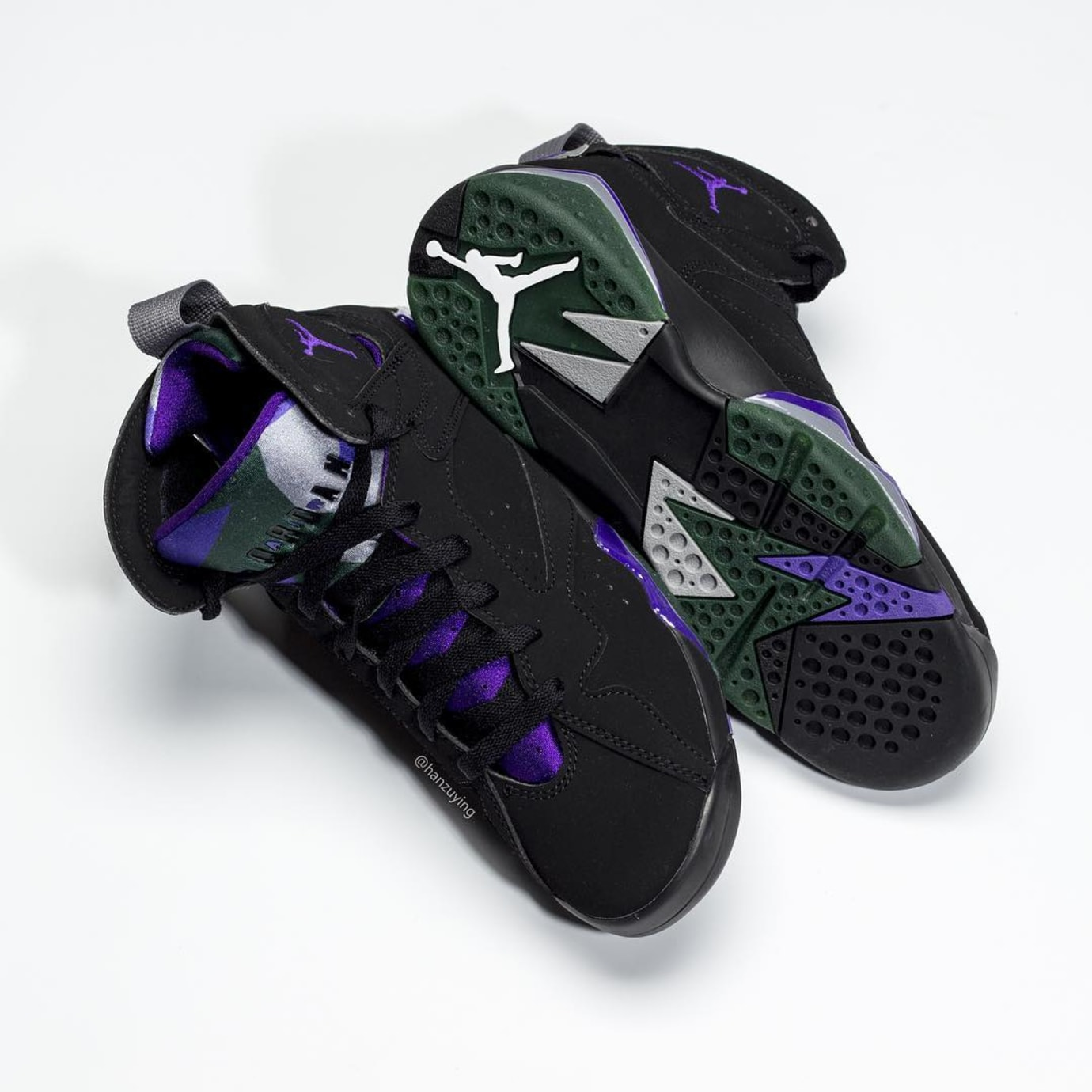 Image via hanzuying · Air Jordan 7  Ray Allen PE  304775-053 2 e699b6d747b9
