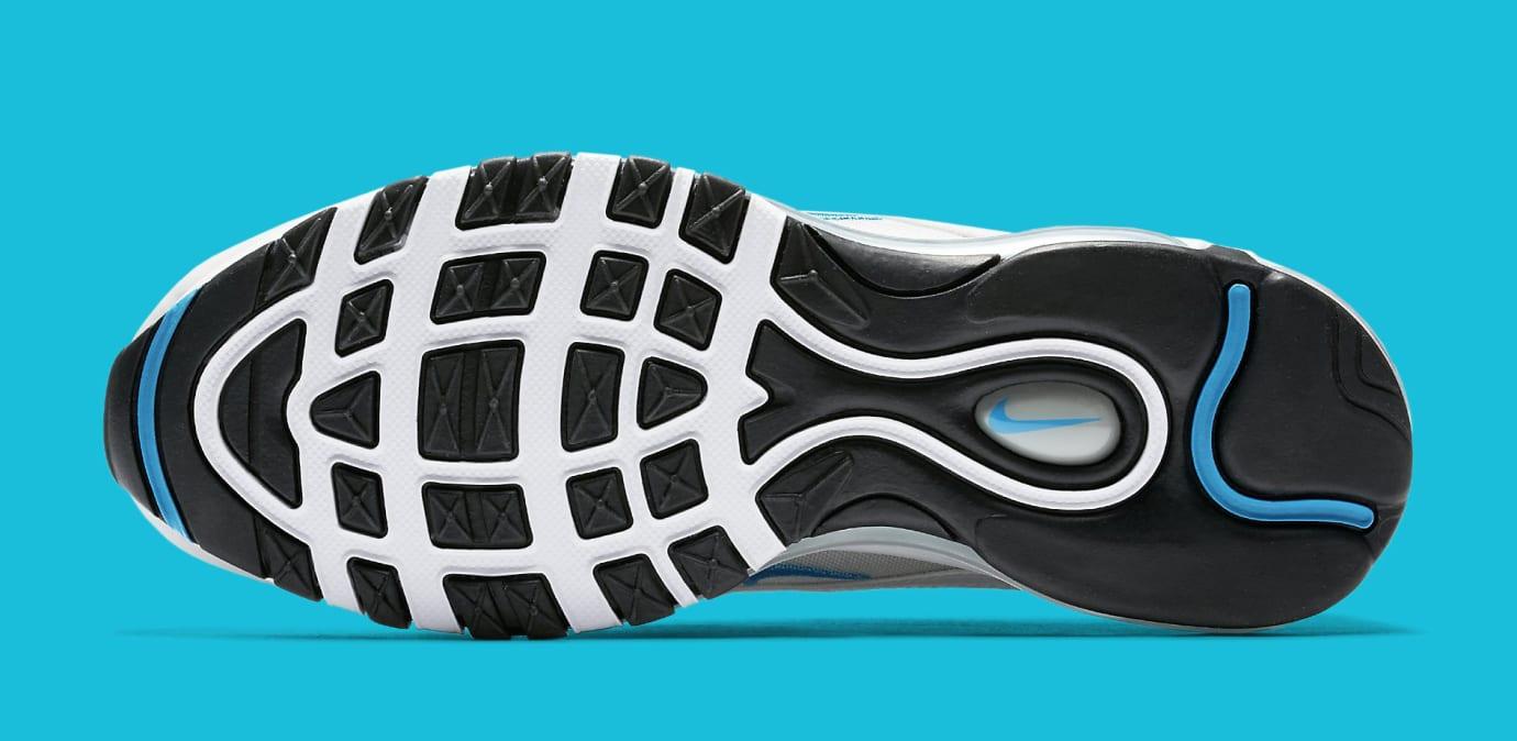 Womens Nike Air Max 97 Silver Blue 917647-001 Sole