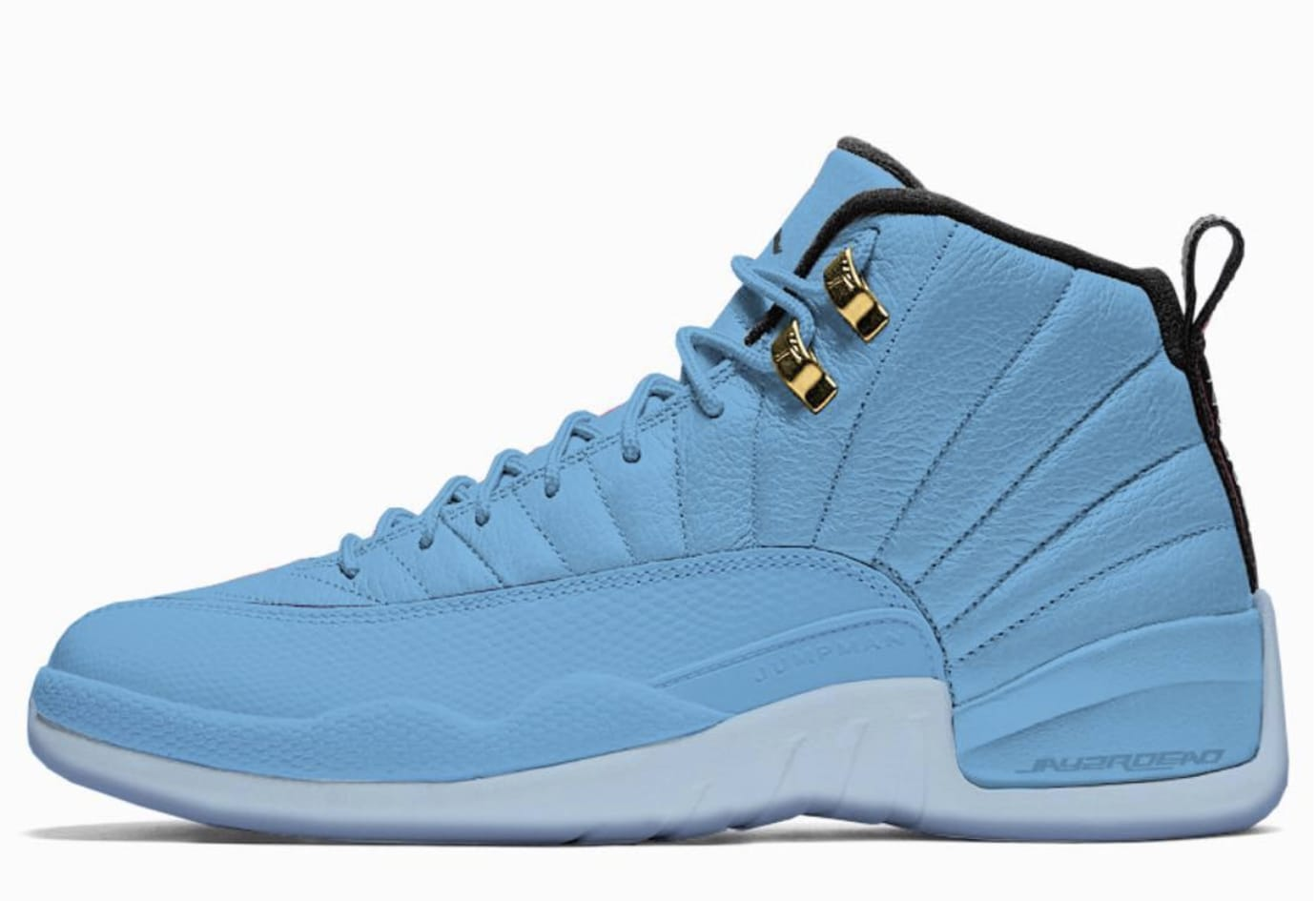 Air Jordan 12 University Blue/Metallic Gold-Black 130690-430