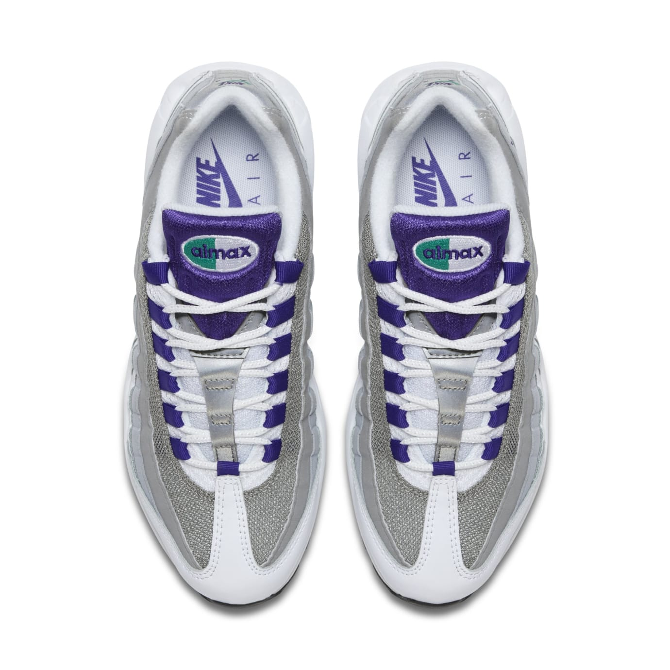 WMNS Nike Air Max 95 'Grape' 307960-109 (Top)