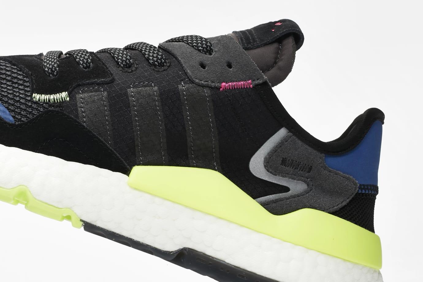 SNS x Adidas Nite Jogger 'Black/Carbon-Grey Six' EE9462 (Detail)