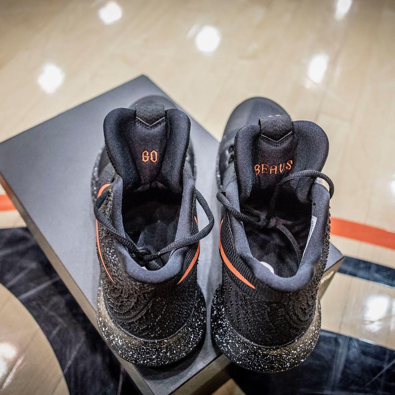 Oregon State Nike Kyrie 3 PE Heel