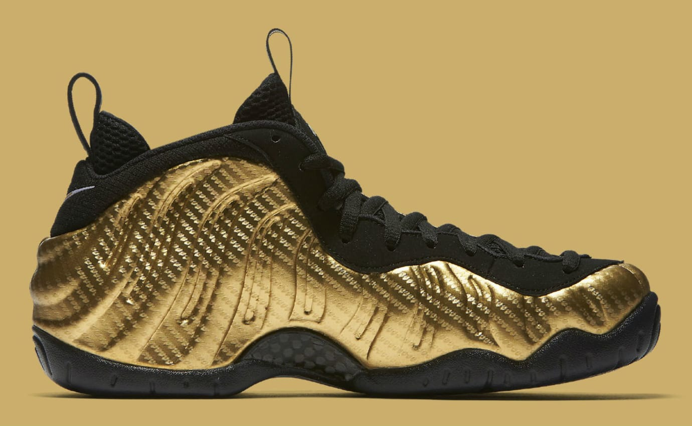 ad6fd2e889a Nike Air Foamposite Pro Metallic Gold Release Date Medial 624041-701