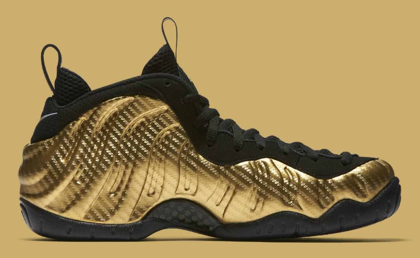 best authentic 1e20b 43a92 Nike Air Foamposite Pro Metallic Gold Release Date 624041 ...