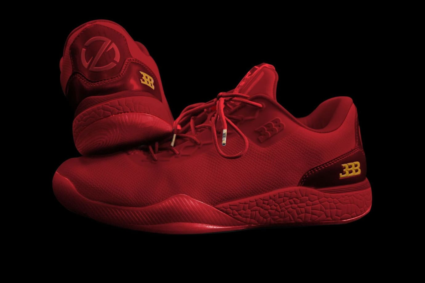 Big Baller Brand ZO2 Independence Day Red Heel